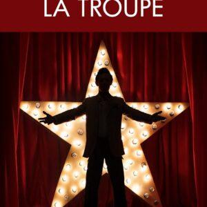 Couverture du roman La Troupe, par Frédéric Meurin