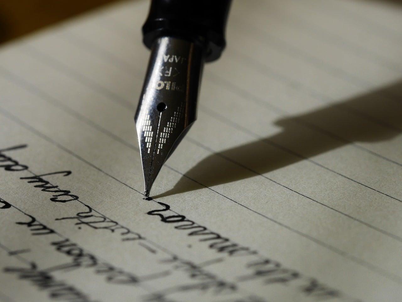 Je vous ai écrit une lettre...