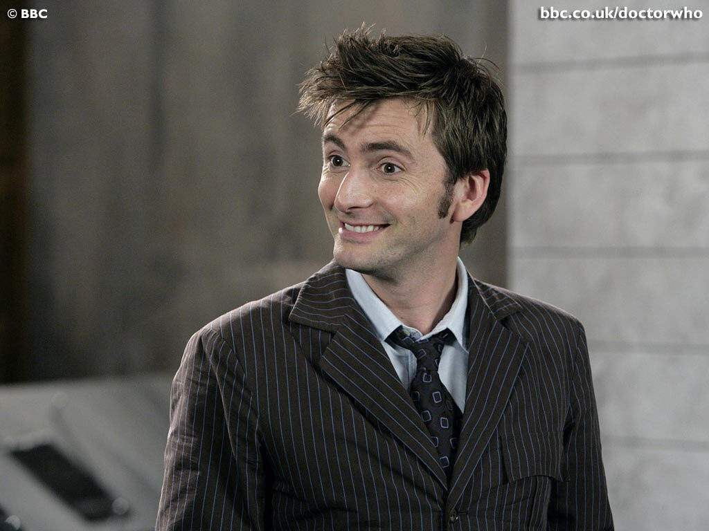 Le 10e Docteur apprécie ma blague. Mais si.